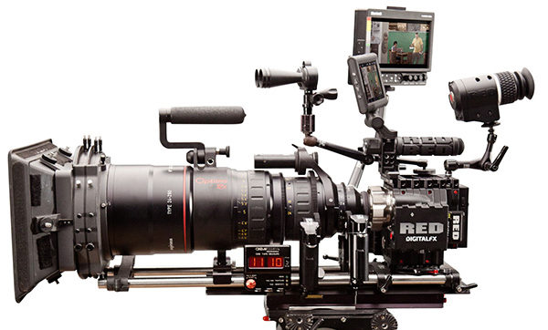 3 Professional Digital Video Cameras